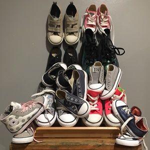Kids Converse Sellers Lot(11 pair)